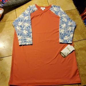 LuLa Roe Disney size 14 girls shirt
